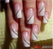 elegant french manicure nails