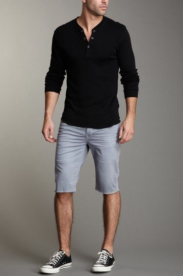 Like this simple, relaxed look
