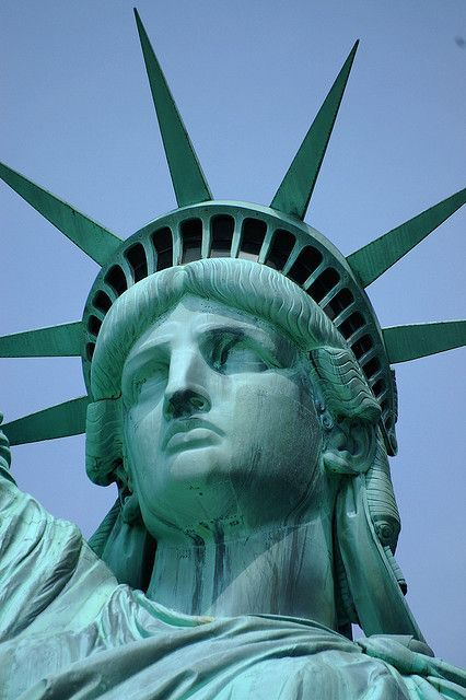 Statue of Liberty New York ~ went several   times as a child & climbed to the top of the torch which they stopped   allowing.