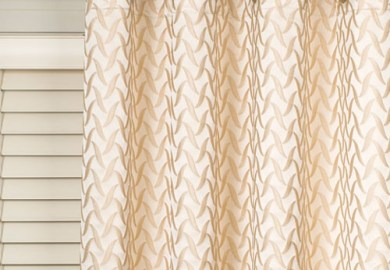 Curtains Over Horizontal Blinds