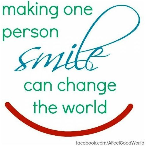 How About Making Difference Smile Quotes Positive