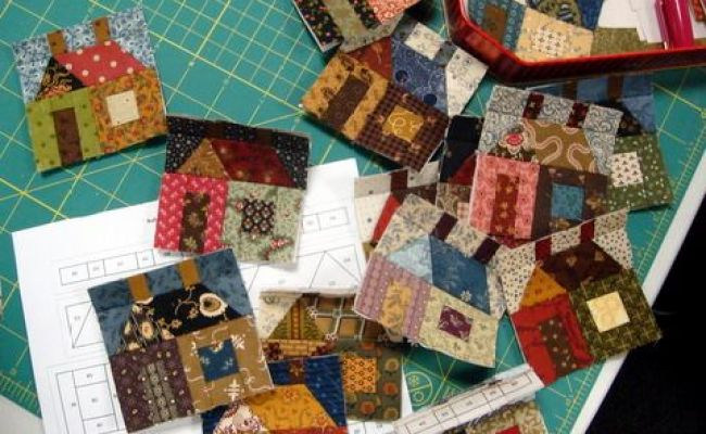 Tiny House Blocks Moose Bay Muses Can T Quit Quilting