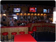Sports bar decor | For the Home | Pinterest