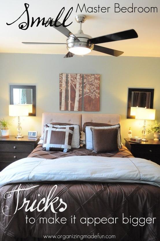 Small Master Bedroom Organization Ideas  Home Decor Ideas