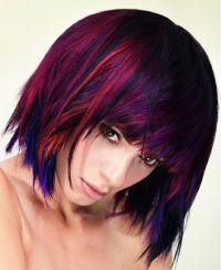Multi-colored hair | Hair | Pinterest