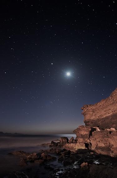 cómo enfocar una fotografía y cómo procesar un cielo estrellado.