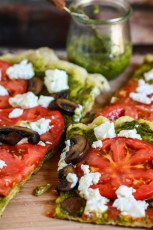 Grilled Goat Cheese and Pesto Pizza | Fresh Tastes Blog | PBS Food | Brilliant Barbecue | Scoop.it