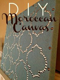DIY Moroccan-Inspired Wall Art | For the Home | Pinterest