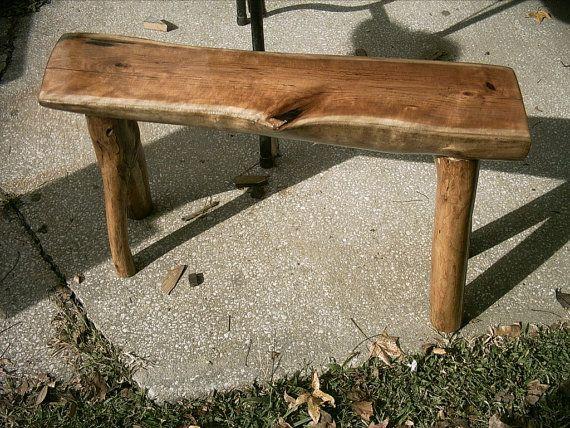 Half Log Bench
