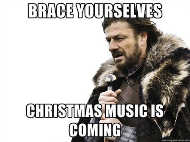 working retail christmas meme