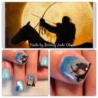 Cool nails! Native American design. | Nail Art | Pinterest