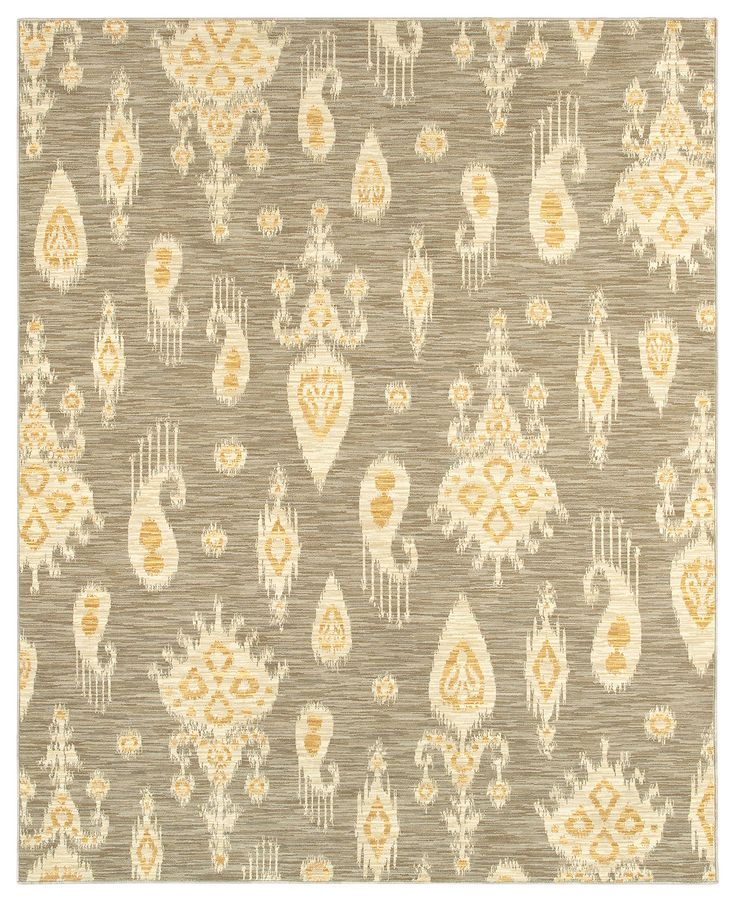 """Shaw Living Area Rug, Neo Abstracts 17500 San Gabriel Grey 2'6"""" x 8' Runner Rug - Runners Rugs - Rugs - Macy's"""