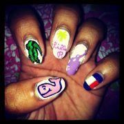 preppy nails l