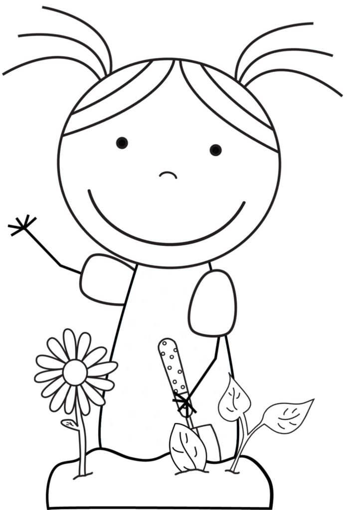 Recycling Coloring Sheets For Preschool Coloring Pages