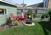 fire pit, seating area, landscaping | outdoor rooms ...