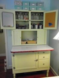Antique Hoosier Style Cabinet Circa 1930's