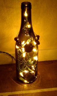 Wine bottle lamp! | Craft Ideas | Pinterest