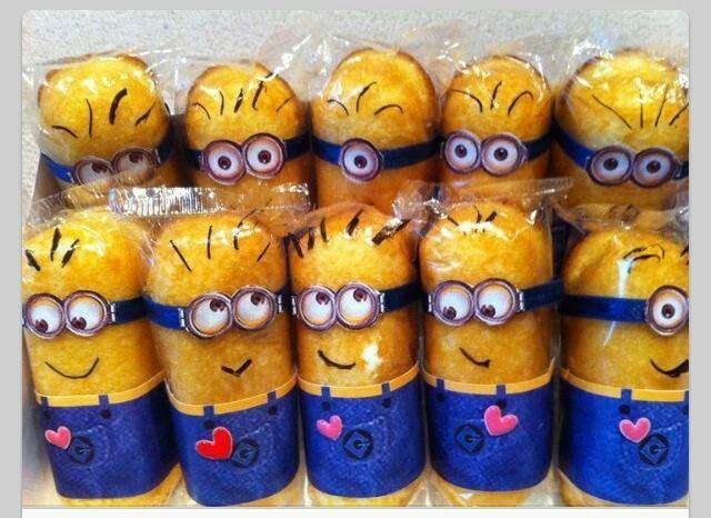 Twinkie Minions Cute Pinterest
