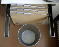 Create Open File Storage With IKEA Shelf Brackets