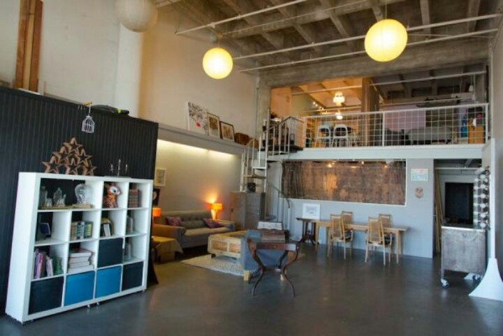 Cool studio apartment  Make this Place Your Home  Pinterest