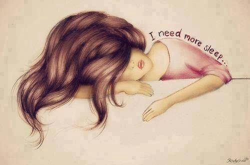 Necesito dormir más