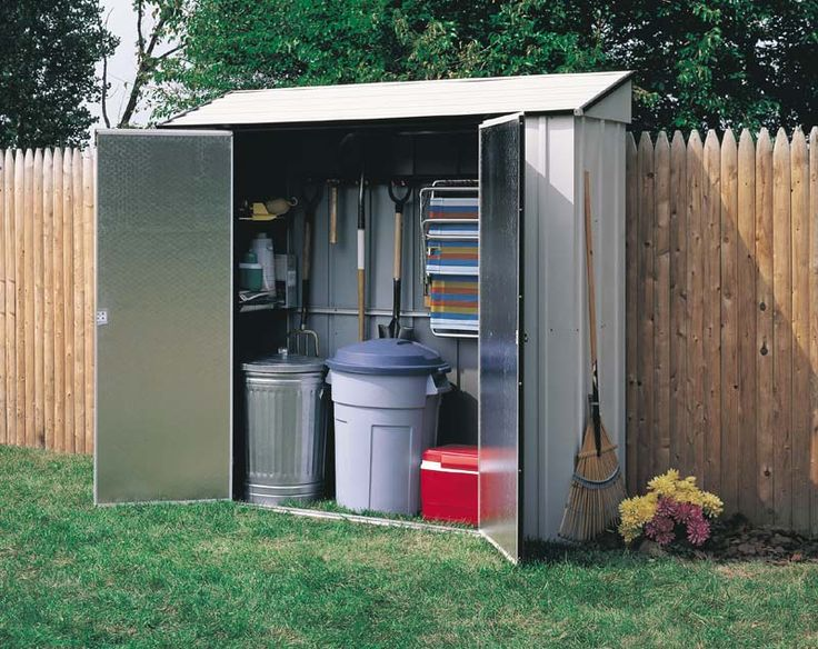 Narrow Garden Sheds