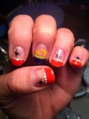 halloween nails finger nail tips