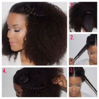 crown braid natural hair the gallery for gt crown braid ...