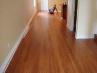 Bamboo Floor Installation