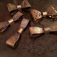 Metal bow tie for The History | j* | Pinterest