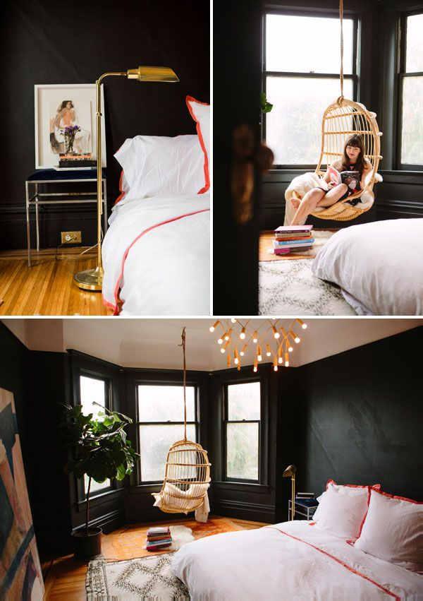 Our Bedroom Makeover | Oh Happy Day @Valspar Paint Paint #loveyourcolor