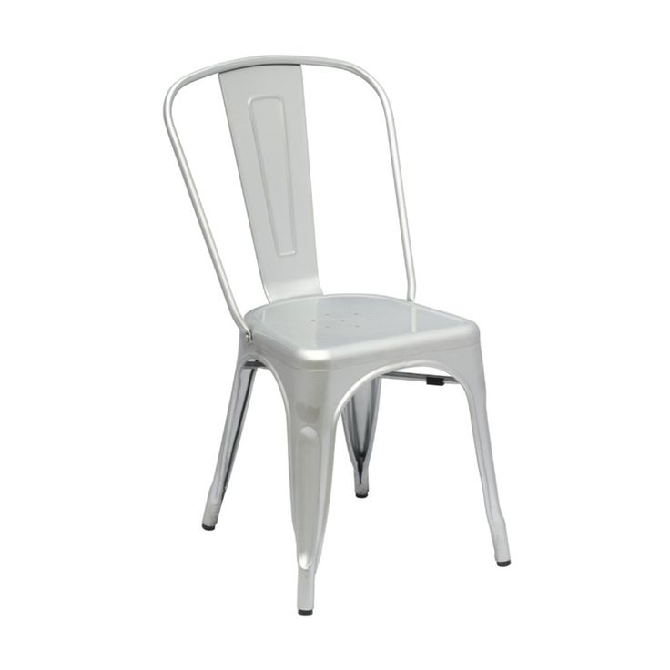 Bistro Dining Chair in Metal
