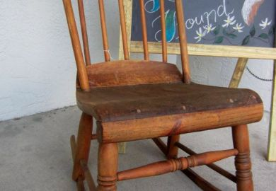 Antique Rocking Chairs 1900s