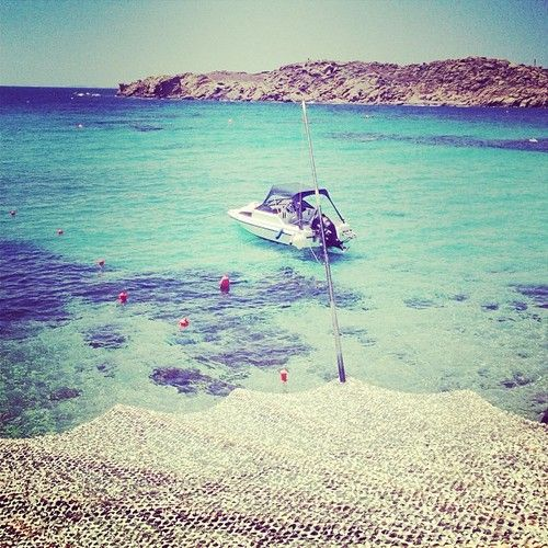 Amazing day at Paraga Beach. #mykonos #greece (at Paraga Beach)