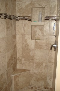 tan tile shower stall http://www.diynetwork.com/how-to/how ...