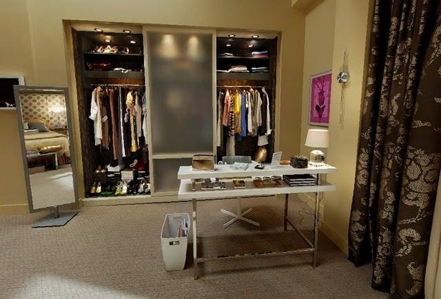 Serena Van Der Woodsen's closet