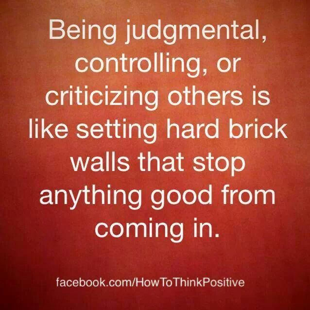 Quotes Judgemental People Say About