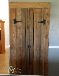 DIY Pantry Barn Doors | Future projects | Pinterest