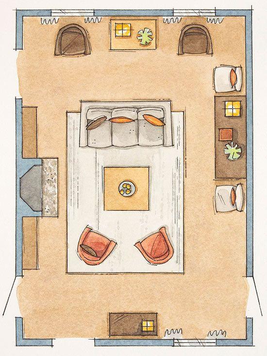 How to Arrange Furniture NoFail Tricks
