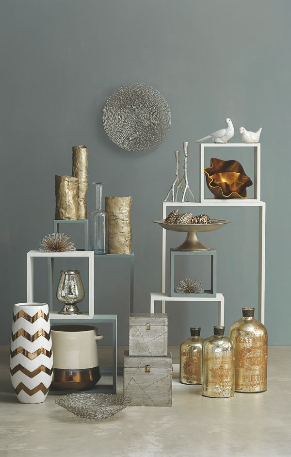 Mix and match metallics to illuminate any room. Save 35% sitewide! Use code ARTPIN35 from 11/18/14 to 12/18/14.