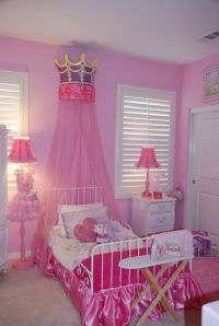 Hot Pink Princess Room   Princess Bedroom   Pinterest