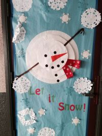 Classroom door decoration | January | Pinterest