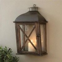 WALL LANTERN OUTDOOR OR INDOOR