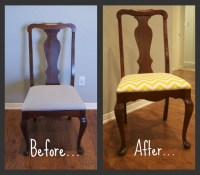 Dining Room Chair Reupholster | DIY refinishing/ re ...
