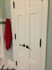 Double Bathroom doors! ~French~   Bathrooms   Pinterest