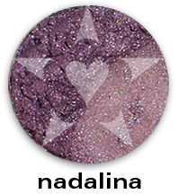 """NADALINA is a deep smoked russet mauve with complex pewter undertones.    CHIARA is an Aromaleigh v2 stock collection, inspired by the range of best-selling, frost eyeshadows of Aromaleigh v1, the """"Gothic Lolita"""" Eyeshadow collection.    http://www.aromaleigh.com/newcshjetomi.html"""