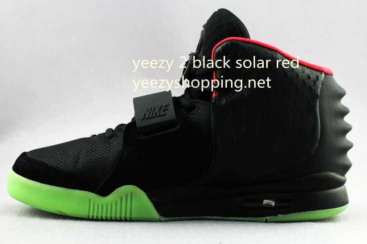 yeezy 2 replica black solar red glow in dark accept paypal,visa card,master card.