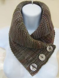 Shawl Collared Cowl | Knitting | Pinterest