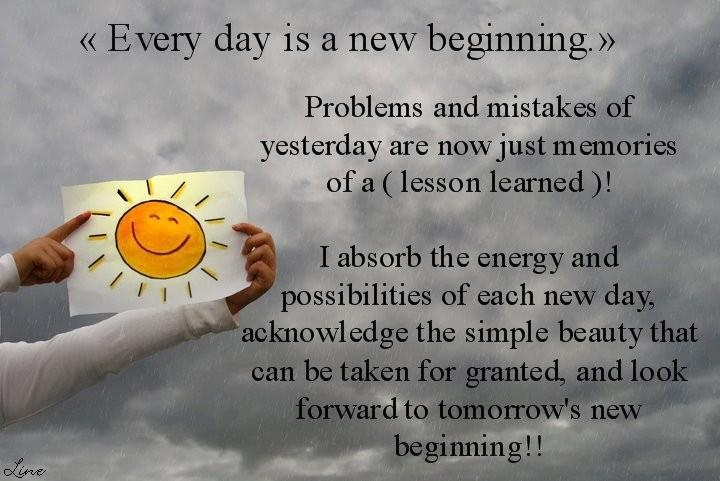 Quotes Beginning Everyday New
