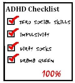 Symptoms Checklist: Adult Add Symptom Checklist